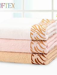 Serviette de bain - Fil teint - en 100% Coton - 26.77×51.18 inch(68×130 cm)