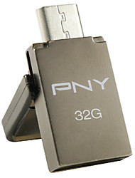 PNY otg duo-Link OU5 32gb usb flash drive, grigio