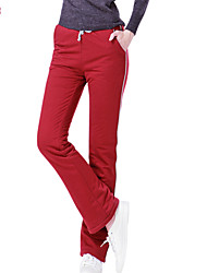 Women's Casual/Party/Work/Plus Sizes Micro-elastic Thick Active Pants (Cotton/Polyester/Faux Fur)