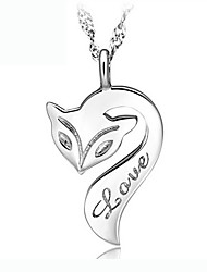 KIKI  Women's 925 sterling silver pendant necklace (excluding necklace)