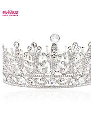 Neoglory Jewelry Exellent Round Tiara Crown Hair Accessories with Austrian Rhinestone for Women Wedding Pageant
