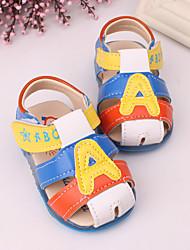 Baby Shoes - Tempo libero / Casual - Sandali - Finta pelle - Blu / Marrone