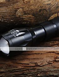 Lanternas LED / Lanternas de Mão LED 5 Modo 1600 Lumens Foco Ajustável Cree XM-L T6 18650.0 / AAACampismo / Escursão / Espeleologismo /