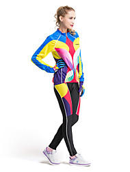 forider® riding ropa deportiva de moda de neón set vestido de manga larga