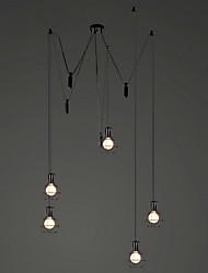 Metal - Lámparas Araña Cosecha