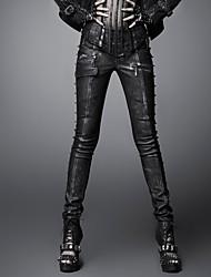 Pantaloni Da donna Skinny Vintage Media elasticità