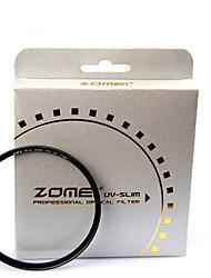 custos-efetivos zomei lente câmera digital uv 40,5 milímetros fino estrutura do filtro protetor