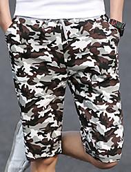 1/2 Pantalones ( Algodón Compuesto )- Casual Hombre