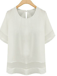 Women's Plus Size Short Sleeve Blouse (More Colors)