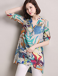 Kaman Women's Casual/Work ½ Length Sleeve Tops & Blouses (Cotton)