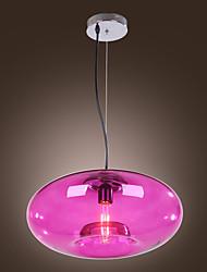 LBKB-5008 Pendant Lights Purple Glass Metal Fashion Modern