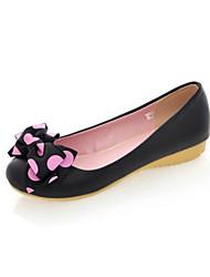 Women's Shoes Leather Flat Heel Platform Boat Gladiator Comfort Pointed Toe Flats Wedding Outdoor Office