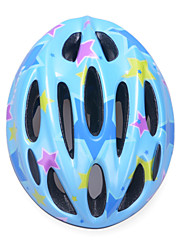 Fashion Comfortable+Safety EPS 10 Vents Kids' Integrally-molded Cycling Helmet - Sky Blue + Blue + Purple