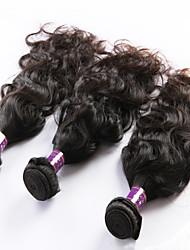 """3 Pcs/Lot 8""""-26"""" Malaysian Virgin Hair Natural Black Natural Curve hair Weft Direct Manufacturer"""