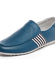 Men's Shoes Casual Loafers Blue/White