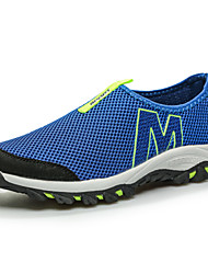 Running Men's Shoes Fabric/Tulle Blue/Gray