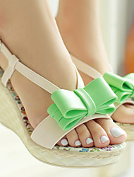 Women's Shoes Wedge Heel Wedges/Slingback Sandals Dress Green/Pink