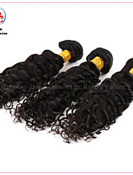 3 Bundles Natural Black Best Selling High Quality Cheap Indian Deep Curly Hair