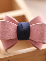 Lovely Leather Qualitative Frosted Bow Hair Bands
