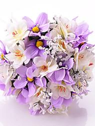 Свадебные цветы Круглый Букеты Свадьба / Партия / Вечерняя Атлас 30 см
