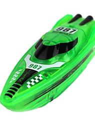 Mini Electronic Boat Flash Remote Control Aquarium Toys