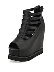 Women's Shoes Platform Platform Sandals Casual Black