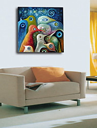 Oil Paintings One Panel Abstract  Hand-painted Canvas Ready to Hang