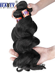 "4 Pcs /Lot 12""-24""8A Peruvian Virgin Hair Loose Wave Human Hair Wefts 100% Unprocessed Peruvian Remy Hair Weaves"