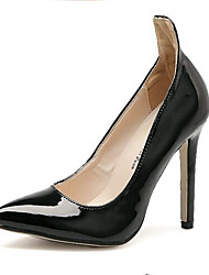 Scarpe Donna Vernice A stiletto Tacchi/A punta Scarpe col tacco Formale/Serata e festa Nero