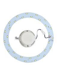 Yangming 1 pcs 18 W 30 SMD 5730 1400lm LM 6000K K Cool White Ceiling Lights Reconstruction plate AC 85-265 V