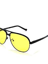 Ciclismo/Conducción/Gafas de visión nocturna/Máscara Protectora hombres 's Polarizada/100% UV400 Aviador Gafas de Deportes