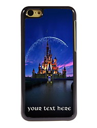 Personalized Gift Castle Design Aluminum Hard Case for iPhone 5C