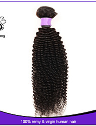 7A Grade Brazilian Virgin Hair Kinky Curly Hair Unprocessed Human Hair Brazilian Kinky Curly Virgin Hair