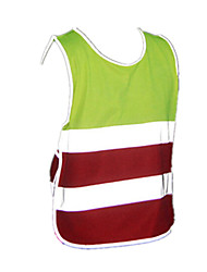 Bike/Cycling Vest/Gilet / Tops Kid's / Unisex Sleeveless Breathable / Lightweight Materials / Reflective Strips 100% PolyesterXS / S / M