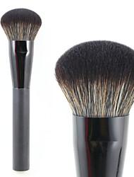 Round Top pinceau kabuki poudre pinceau de maquillage premium