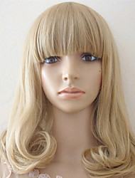 Harajuku Anime Cosplay Wigs Heat Resistant Cute Wave Synthetic Wig