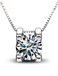Silver world Women's 925 Silver Fashion Necklace