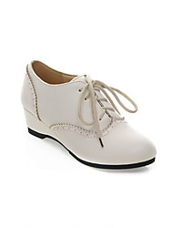 Women's Shoes  Wedge Heel Wedges Oxfords Outdoor/Office & Career/Dress/Casual Black/Yellow/White