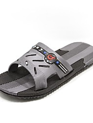 Men's Shoes Casual Rubber Slippers Blue/Gray