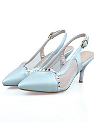 Girls' Shoes Casual Heels  Sandals Blue/Pink/White Gifts (insoles, laces, shoe, socks, color stone, imitation pearls