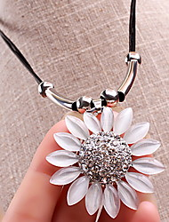 Bohemia Sunflower Little Daisy Flower Necklace