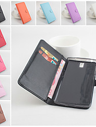 Pour Coque OnePlus Portefeuille Porte Carte Avec Support Clapet Magnétique Coque Coque Intégrale Coque Couleur Pleine Dur Cuir PU pour