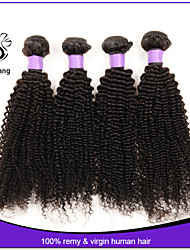 7a Cheap brazilian kinky curly virgin hair 4pcs brazilian kinky curly human kinky curly For Sale