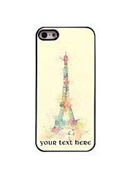 Personalized Gift The Eiffel Tower Design Aluminum Hard Case for iPhone 4/4S