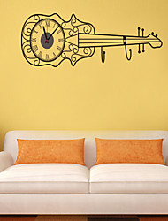 DIY Creative Guitar Wall Clock
