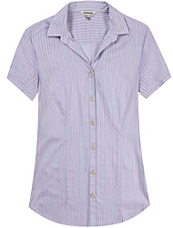Women's Short Sleeve Cotton Blouse
