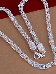 Feiku Women's Korean-style High Quality Silver-plated Necklace