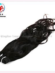 20-Zoll-6a Menschenhaar natürliche Welle vollem Häutchen reines remy Haareinschlagfaden