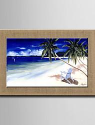 peintures à l'huile un panneau moderne paysage abstrait lin naturel peint à la main prêt à accrocher