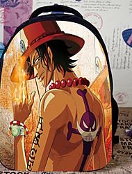 Bolsa Inspirado por One Piece Fantasias Anime Acessórios de Cosplay Bolsa / mochila Laranja Náilon Masculino